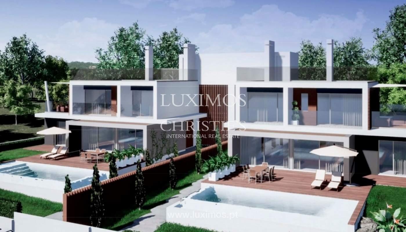 Terrain avec projet de construction de 2 maisons, Almancil, Algarve_160160