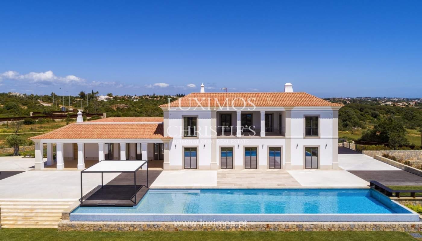 Villa moderne et luxueuse V7, avec piscines, vue sur la mer, Lagoa, Algarve_160390