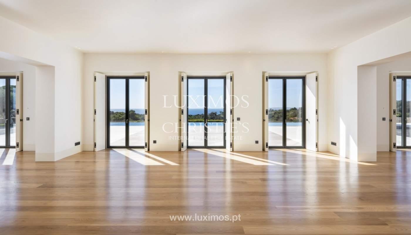 Villa moderne et luxueuse V7, avec piscines, vue sur la mer, Lagoa, Algarve_160406