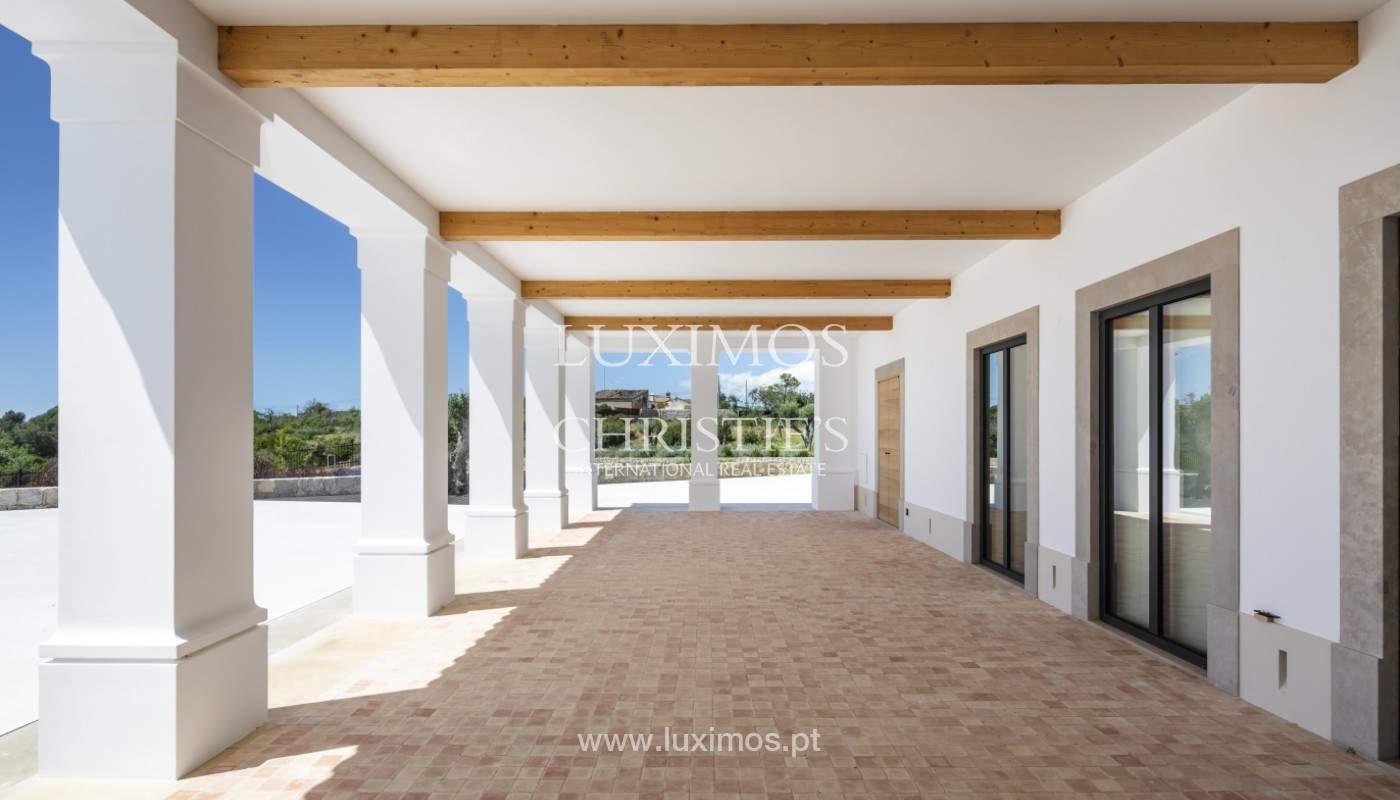 Villa moderne et luxueuse V7, avec piscines, vue sur la mer, Lagoa, Algarve_160410