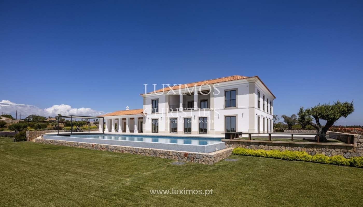 Villa moderne et luxueuse V7, avec piscines, vue sur la mer, Lagoa, Algarve_160429