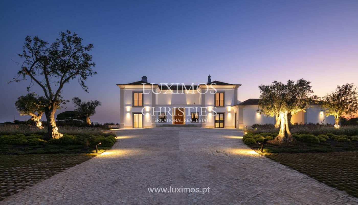 Villa moderne et luxueuse V7, avec piscines, vue sur la mer, Lagoa, Algarve_160455