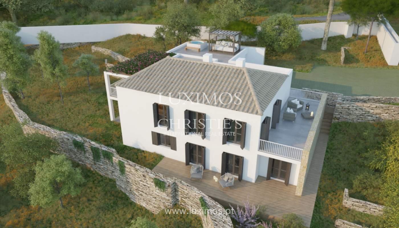 Villa de 5 chambres, dans un condominium de luxe avec une piscine privée, Carvoeiro, Algarve_161131