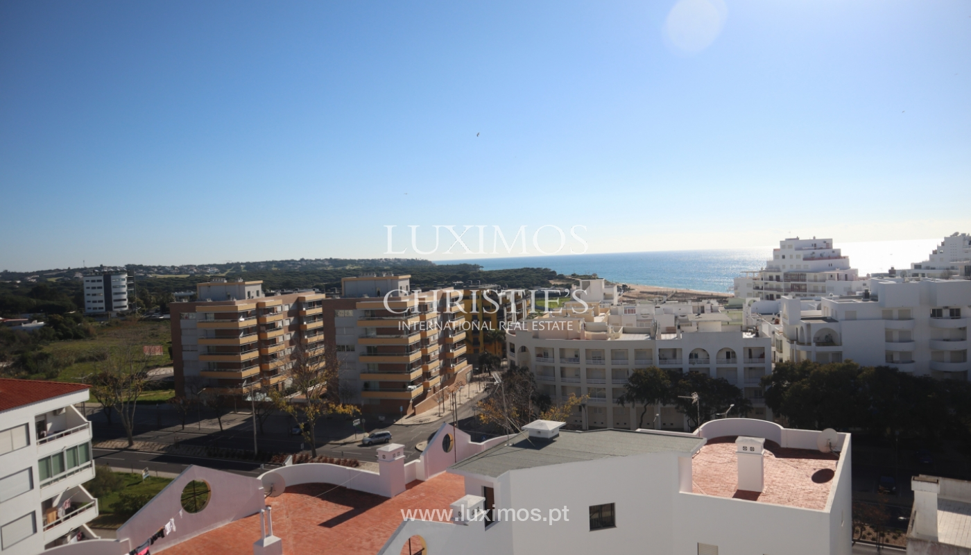 Apartment with 2 bedrooms and sea view, Quarteira, Algarve _161194