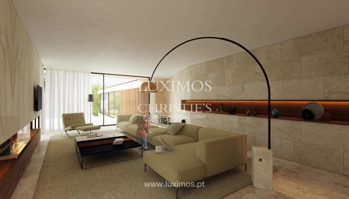 Moradia nova de luxo, com jardins e piscina, para venda, no Porto_161389