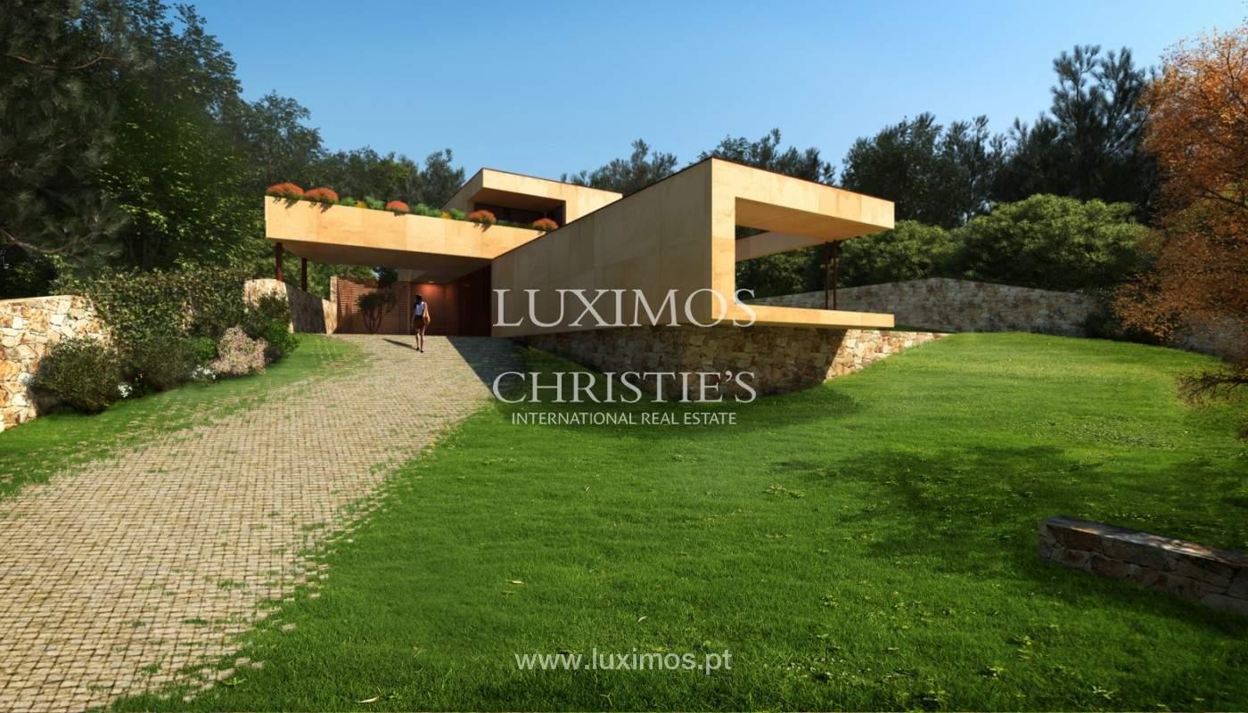 Moradia nova de luxo, com jardins e piscina, para venda, no Porto_161405