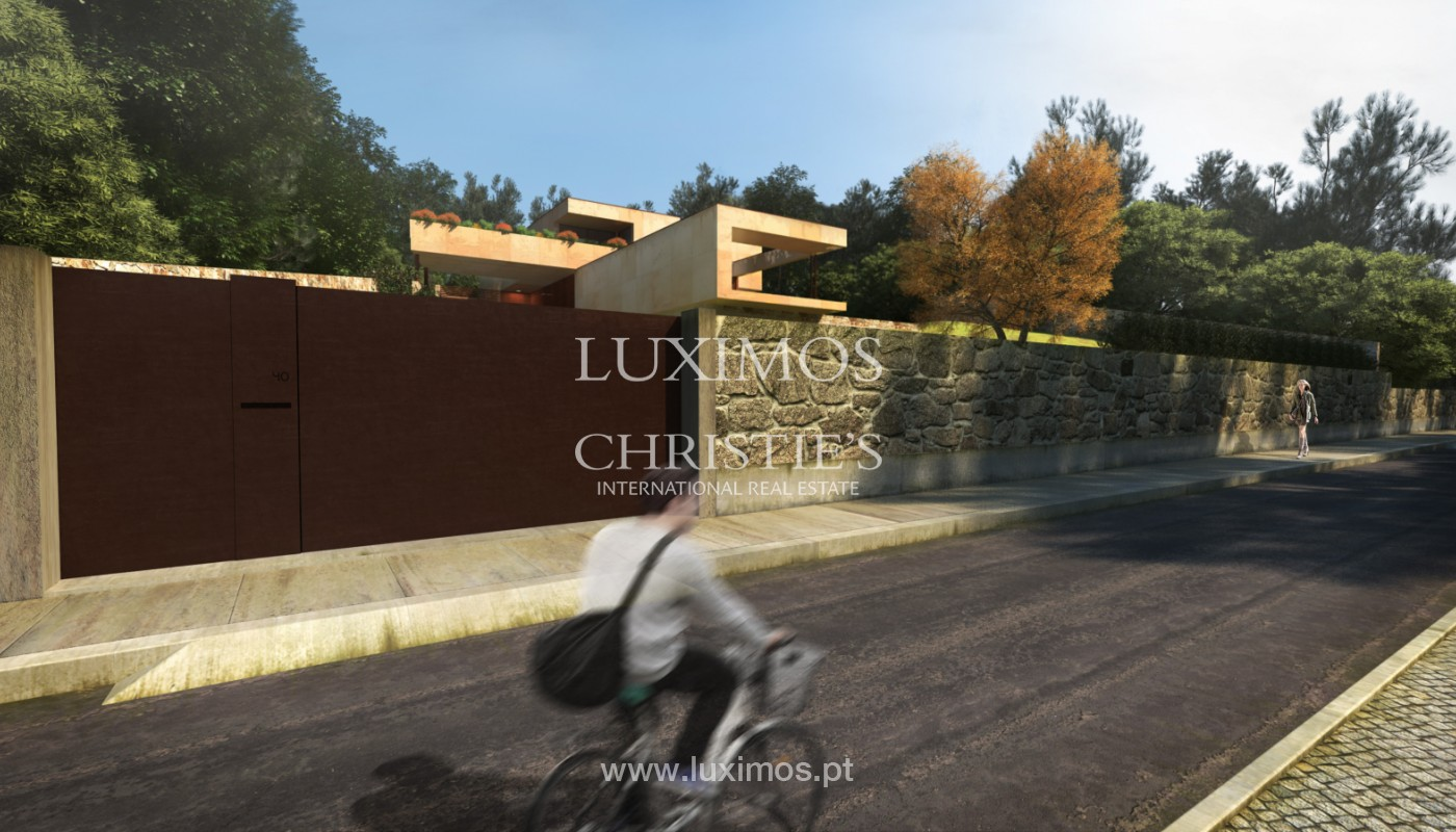 Moradia nova de luxo, com jardins e piscina, para venda, no Porto_161406
