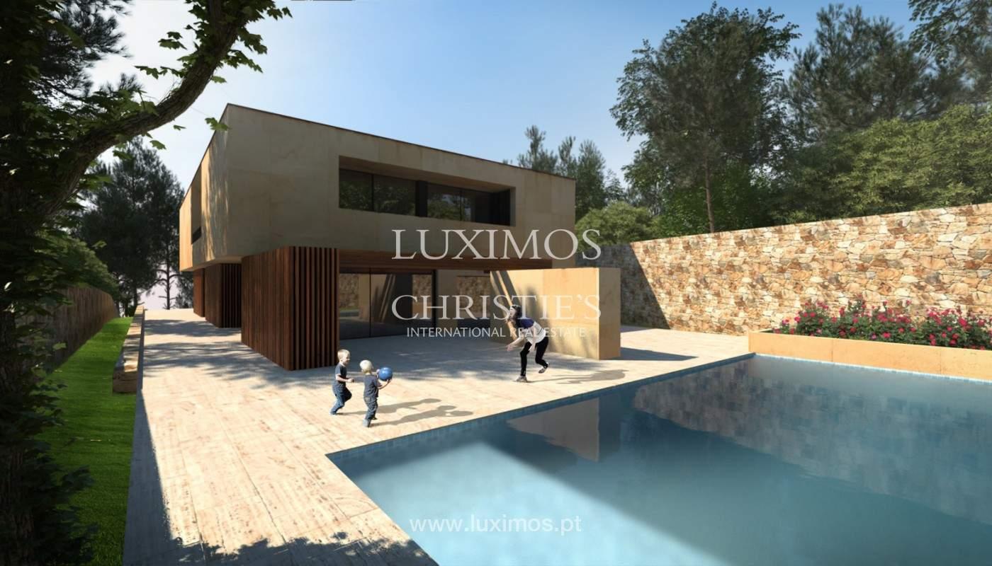 Moradia nova de luxo, com jardins e piscina, para venda, no Porto_161409