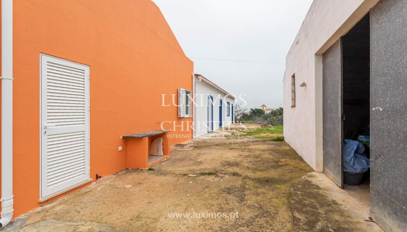 Ferme avec villa de 2 chambres et 2 chalets indépendants, Luz de Tavira, Algarve_161670
