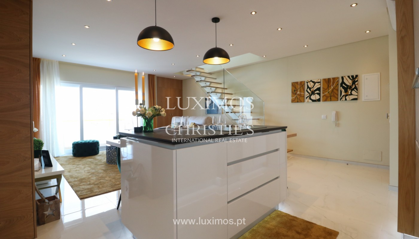 Penthouse de lujo de 1 dormitorio, Quarteira, Algarve_161862