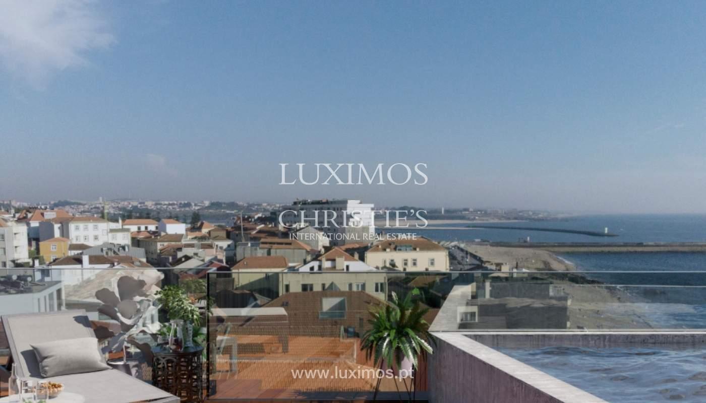 Penthouse duplex mit Terrassen, zu verkaufen, in der Nähe des Strandes, Foz do Douro, Porto, Portugal_161953