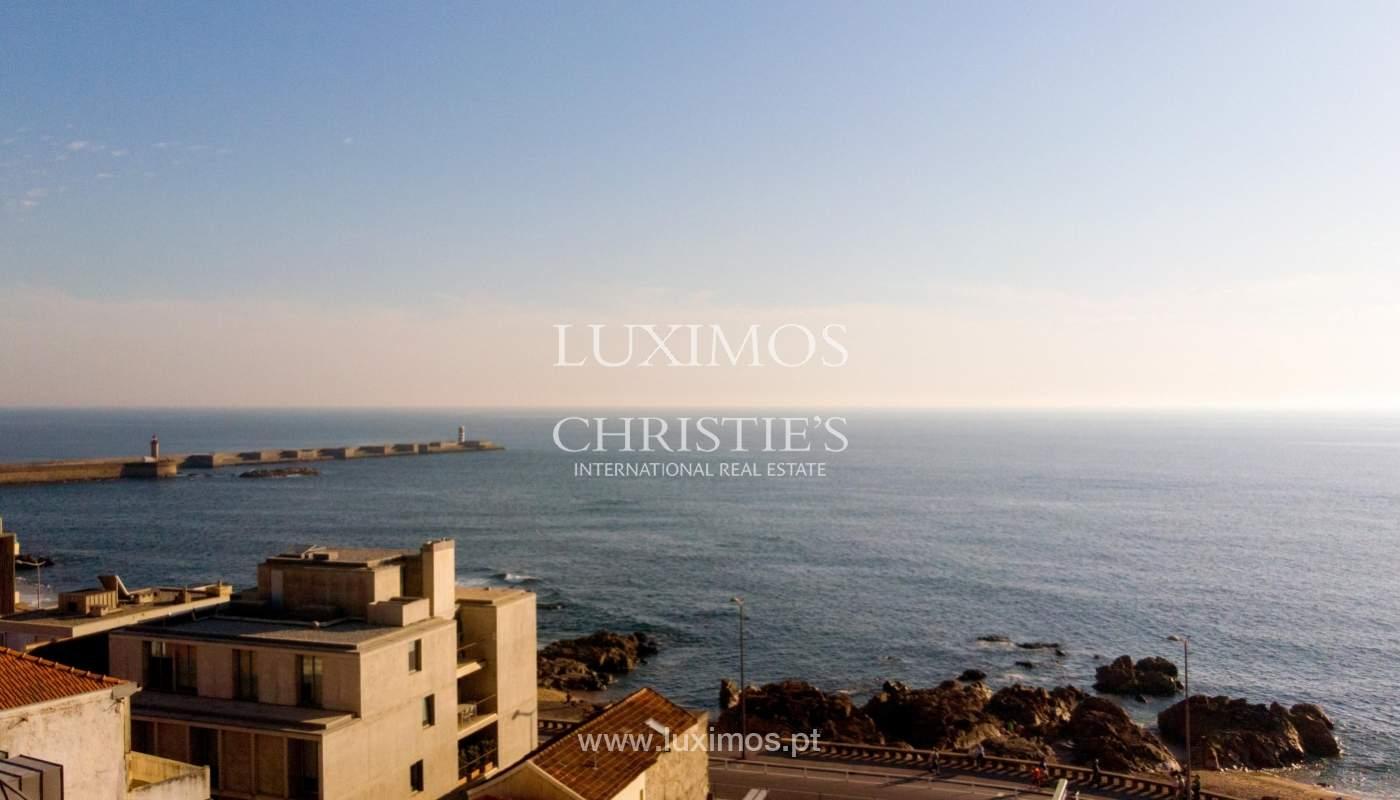 Penthouse duplex mit Terrassen, zu verkaufen, in der Nähe des Strandes, Foz do Douro, Porto, Portugal_161954