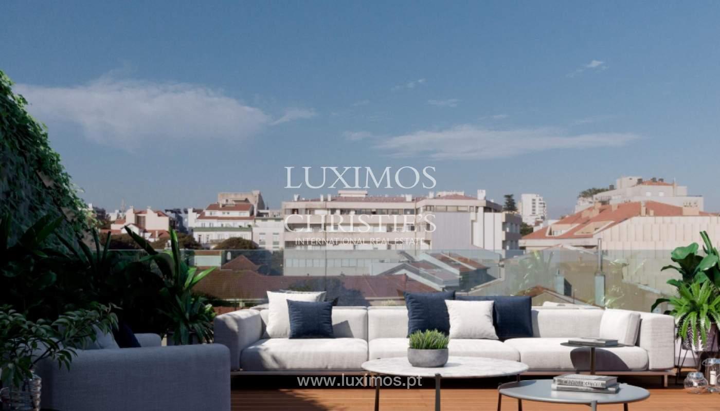 Penthouse duplex mit Terrassen, zu verkaufen, in der Nähe des Strandes, Foz do Douro, Porto, Portugal_161957
