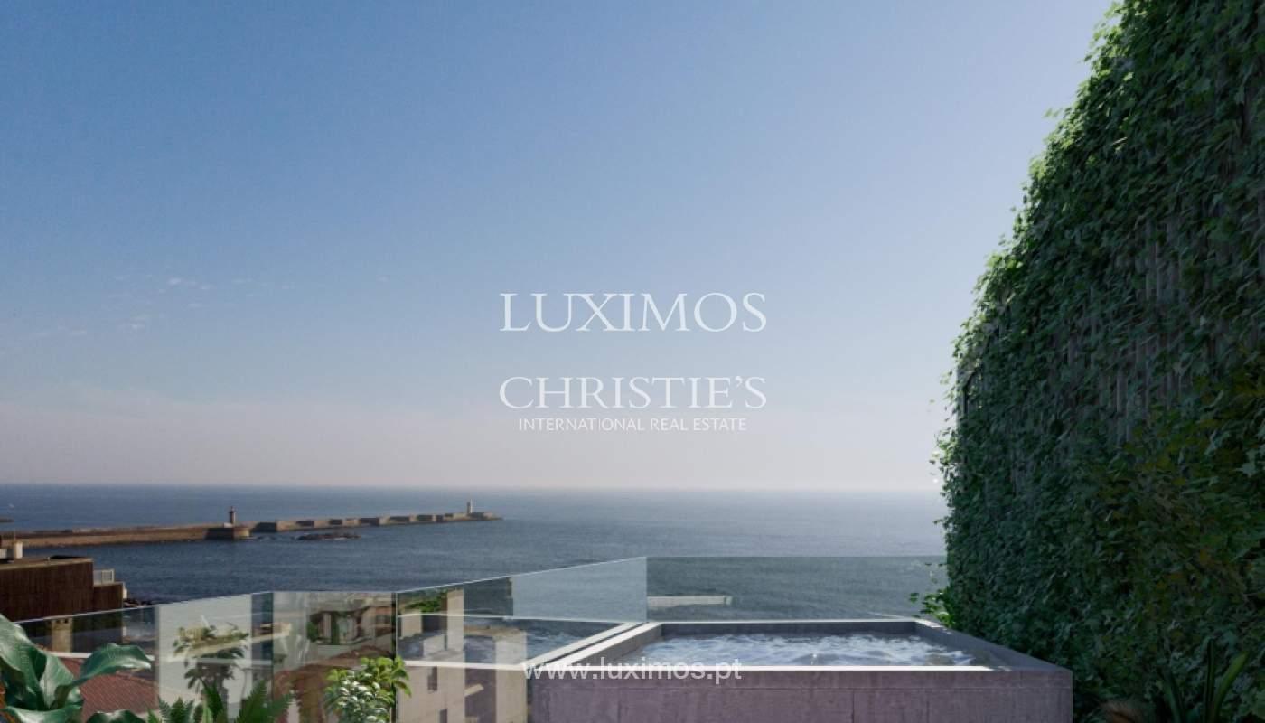 Penthouse duplex mit Terrassen, zu verkaufen, in der Nähe des Strandes, Foz do Douro, Porto, Portugal_161963