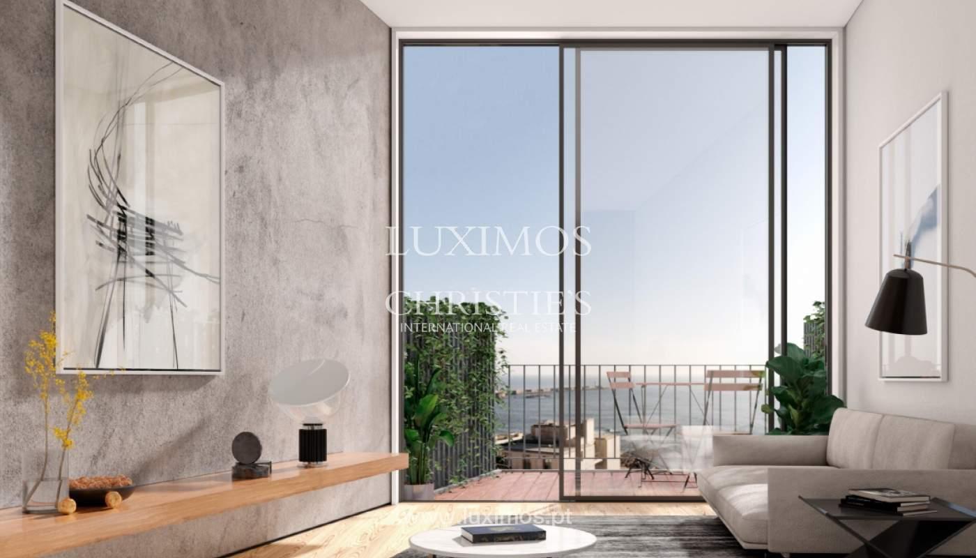 Penthouse duplex mit Terrassen, zu verkaufen, in der Nähe des Strandes, Foz do Douro, Porto, Portugal_161967