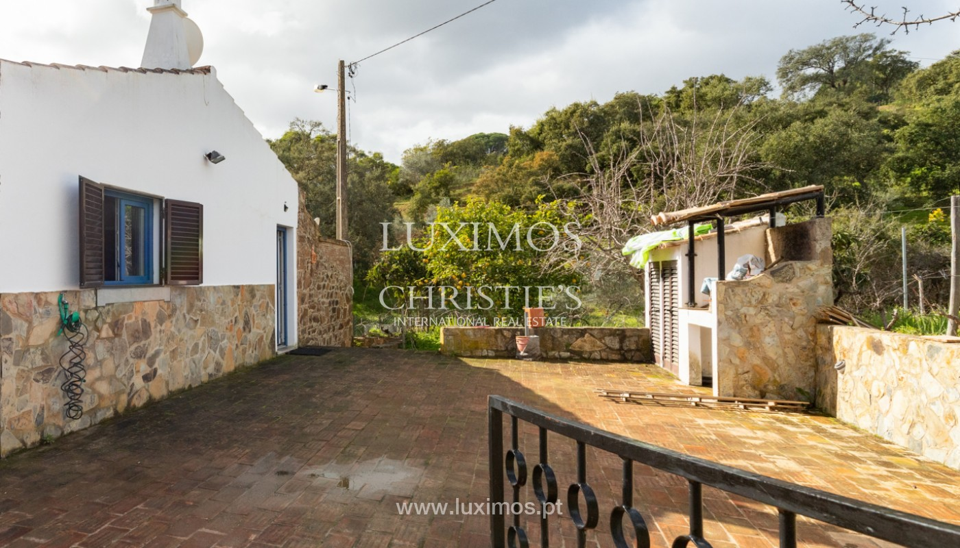 Typical 2 bedroom villa, with mountain and country views, Tavira, Algarve_162029