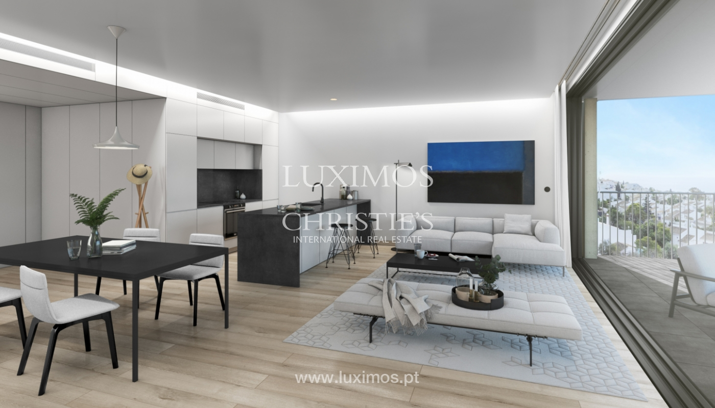 Apartamento nuevo de 1 dormitorio, en venta, en Praia da Luz, Lagos, Algarve_162721