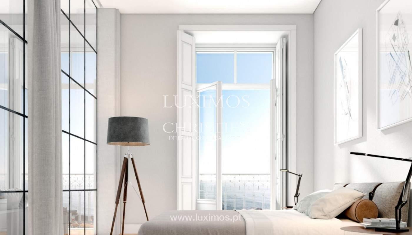 Apartamento con balcón y vistas al mar, en venta, en Foz do Douro, Oporto, Portugal_163885