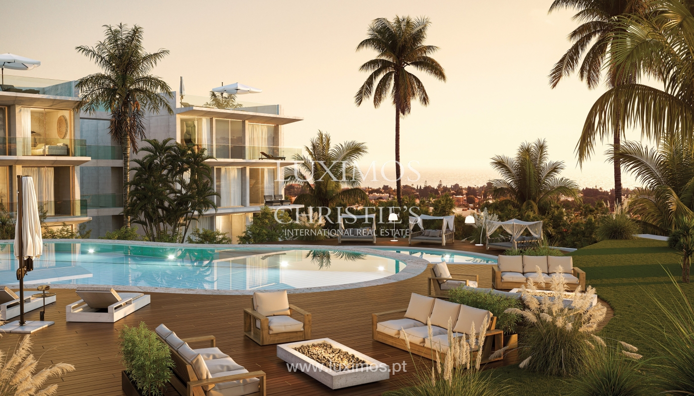1-Schlafzimmer-Wohnung, private Anlage, Carvoeiro, Algarve_165054