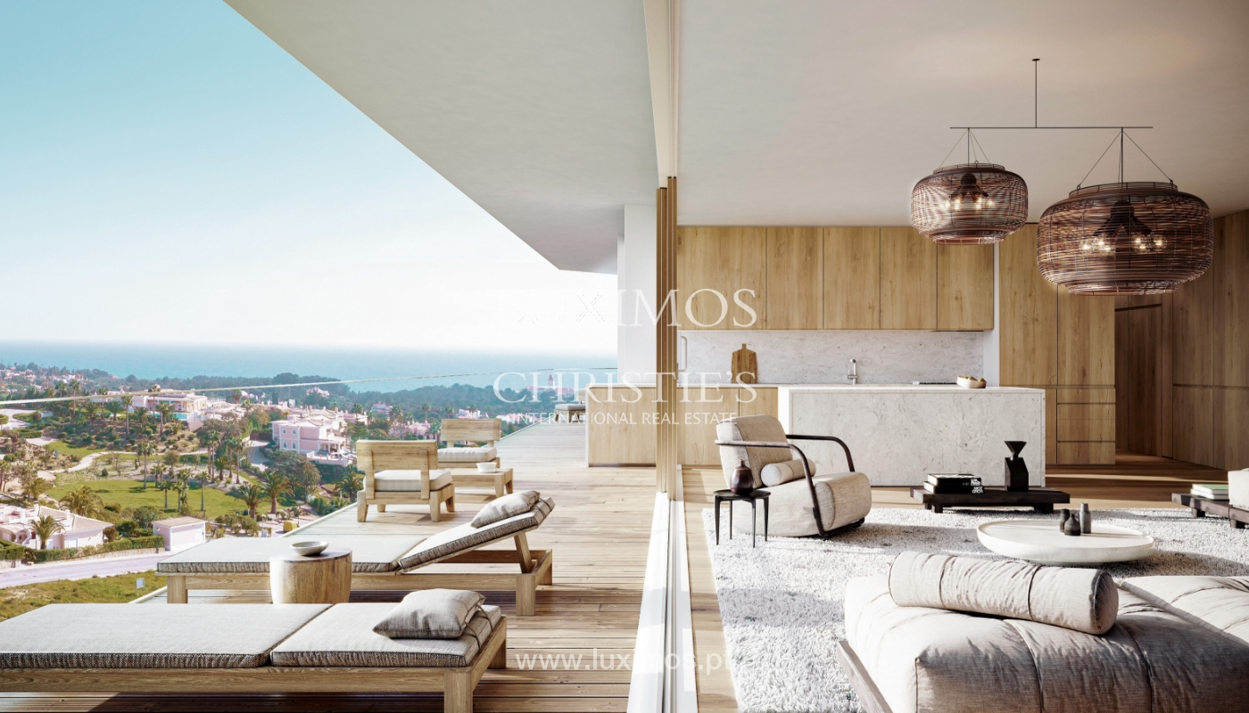 1-Schlafzimmer-Wohnung, private Anlage, Carvoeiro, Algarve_165091