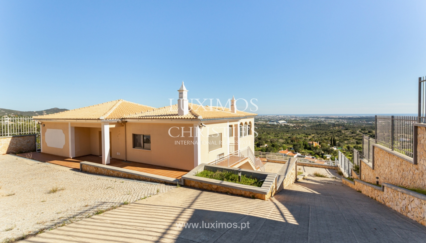 New villa, mountain and sea views, for sale, Santa Barbara de Nexe_165356