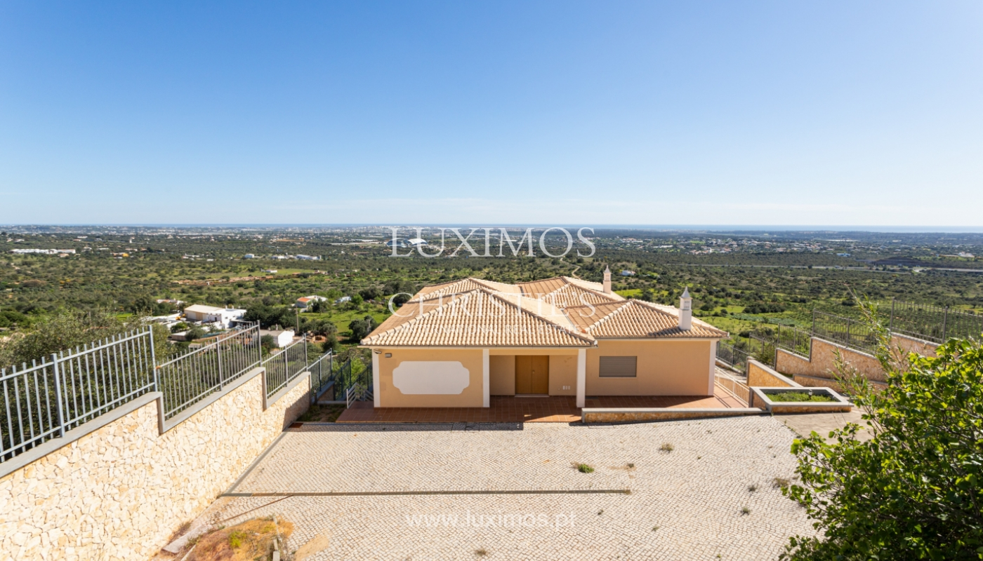 New villa, mountain and sea views, for sale, Santa Barbara de Nexe_165357