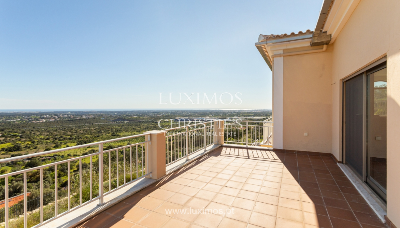 New villa, mountain and sea views, for sale, Santa Barbara de Nexe_165375