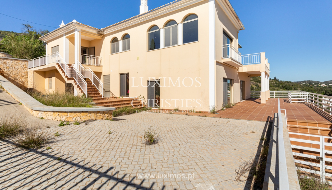New villa, mountain and sea views, for sale, Santa Barbara de Nexe_165376