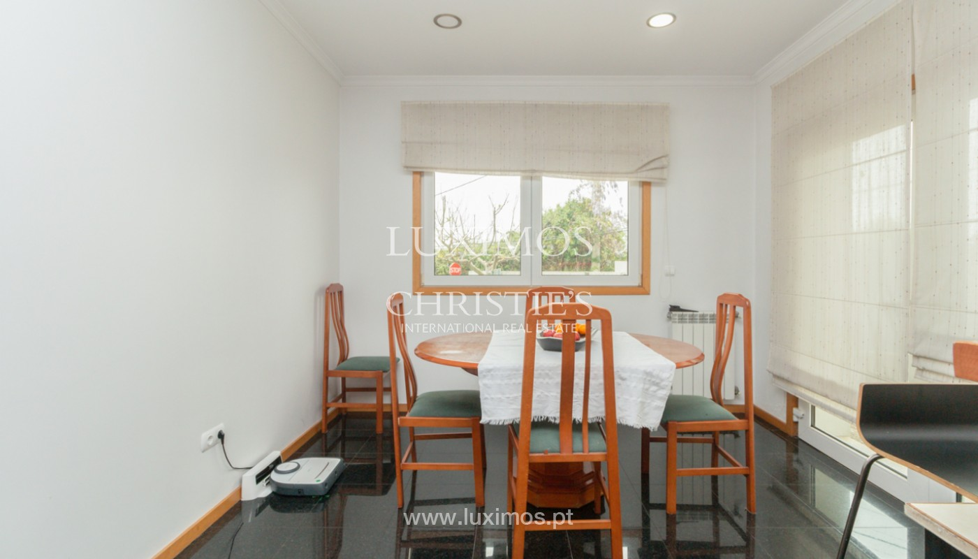 Modern villa with covered terrace, for sale, in Matosinhos, Portugal_165949