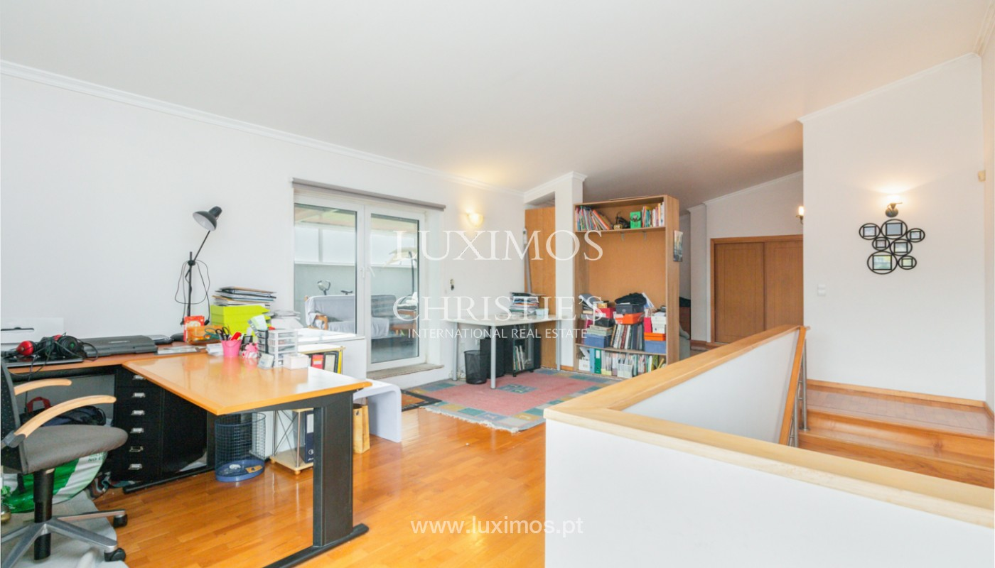 Modern villa with covered terrace, for sale, in Matosinhos, Portugal_165958
