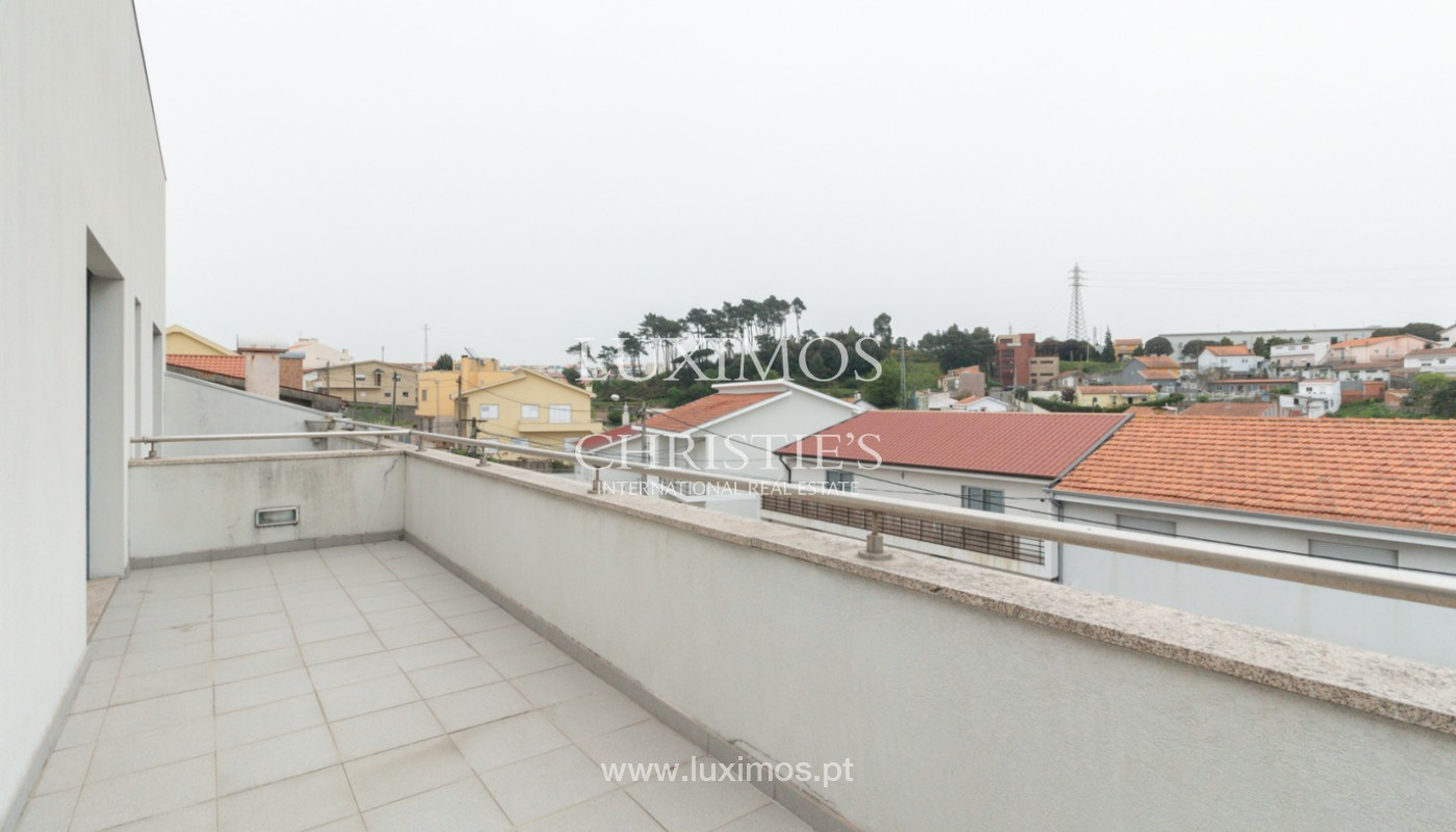 Modern villa with covered terrace, for sale, in Matosinhos, Portugal_165967