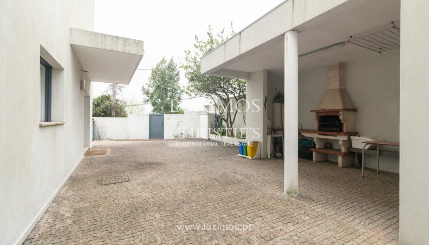 Moderne Villa mit überdachter Terrasse, zu verkaufen, Matosinhos, Portugal_165969