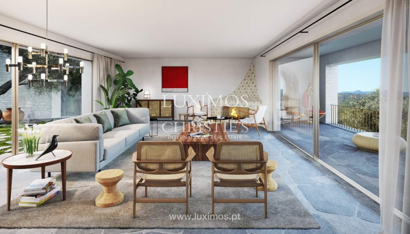 Casa de lujo de 4 dormitorios, complejo exclusivo, Querença, Algarve_166013
