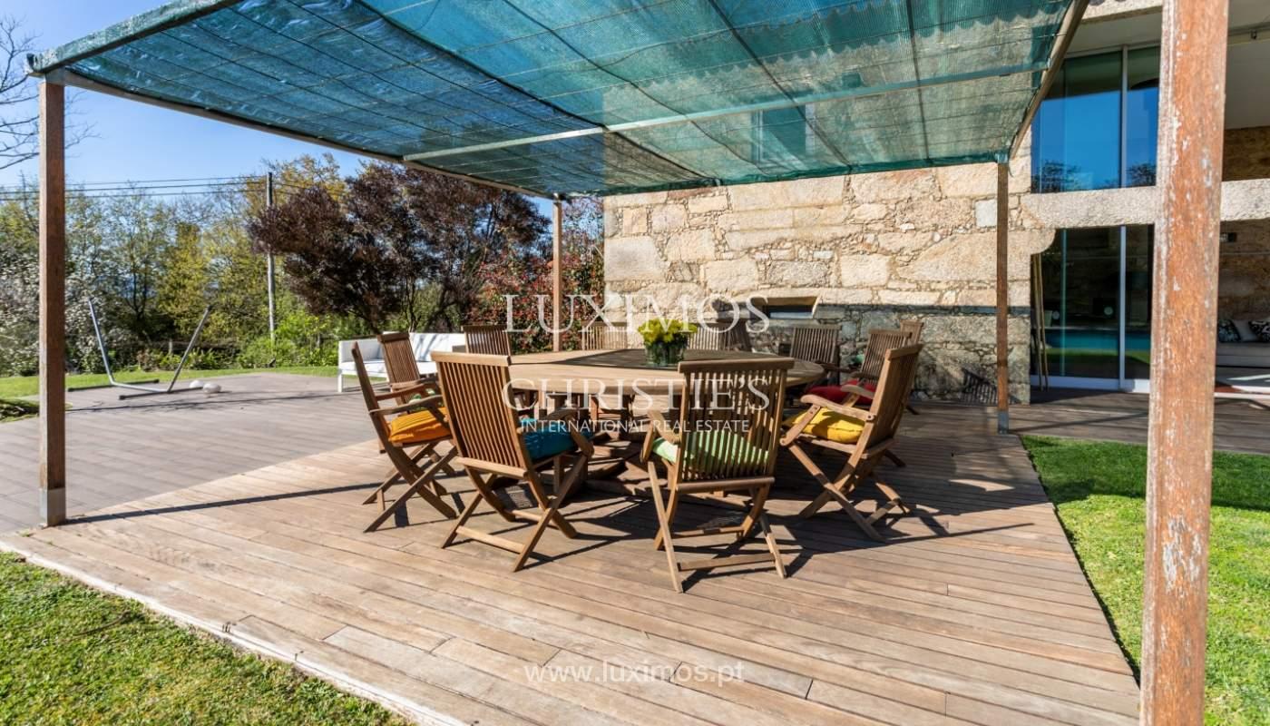 Venda: Casa de Campo contemporânea, com piscina e jardins, Barcelos_166165