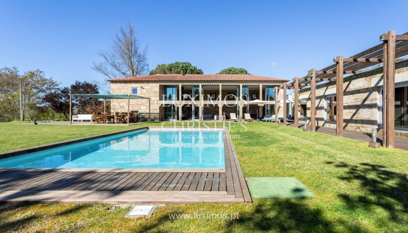 Venda: Casa de Campo contemporânea, com piscina e jardins, Barcelos_166166