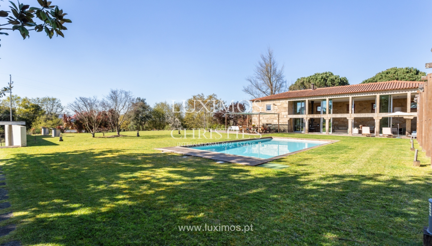 Venda: Casa de Campo contemporânea, com piscina e jardins, Barcelos_166170