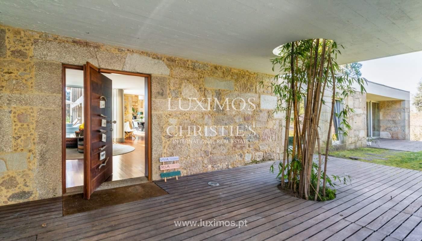 Venda: Casa de Campo contemporânea, com piscina e jardins, Barcelos_166182