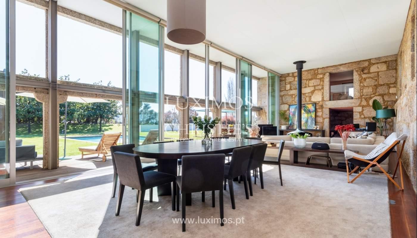 Venda: Casa de Campo contemporânea, com piscina e jardins, Barcelos_166187