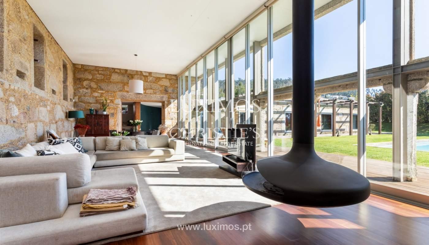Venda: Casa de Campo contemporânea, com piscina e jardins, Barcelos_166191
