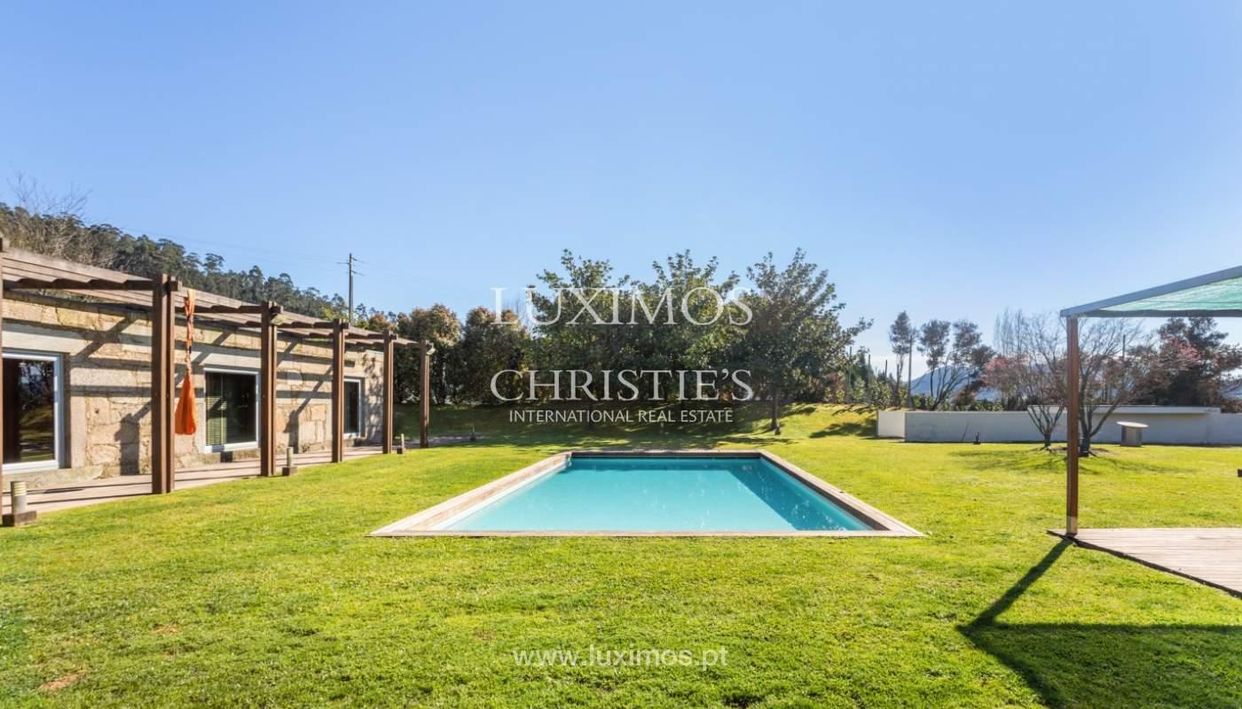 Venda: Casa de Campo contemporânea, com piscina e jardins, Barcelos_166237