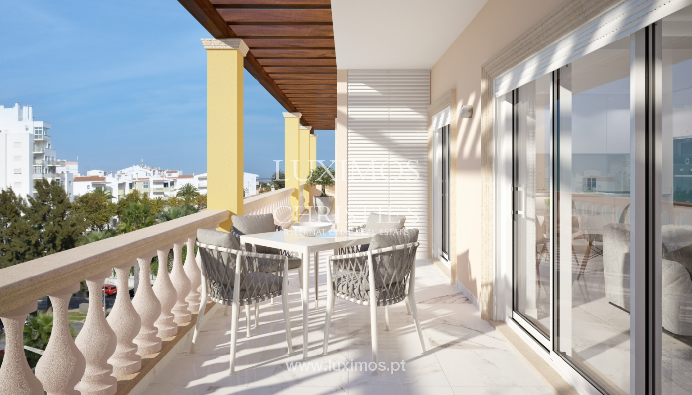 Verkauf einer Wohnung im Bau, mit Terrasse, Lagos, Algarve, Portugal_166991