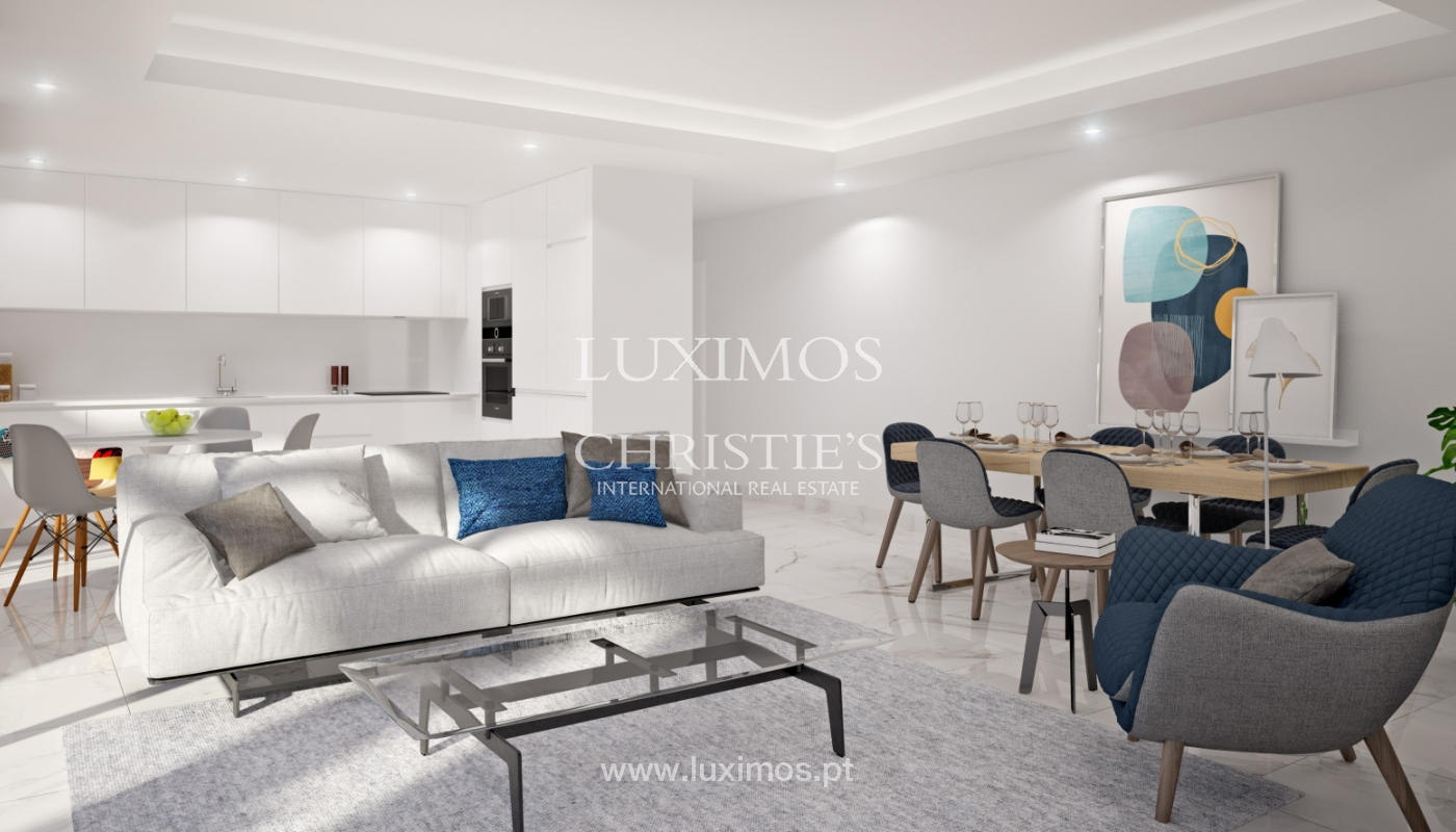 Sale of apartment under construction, with terrace, in Lagos, Algarve, Portugal_167059