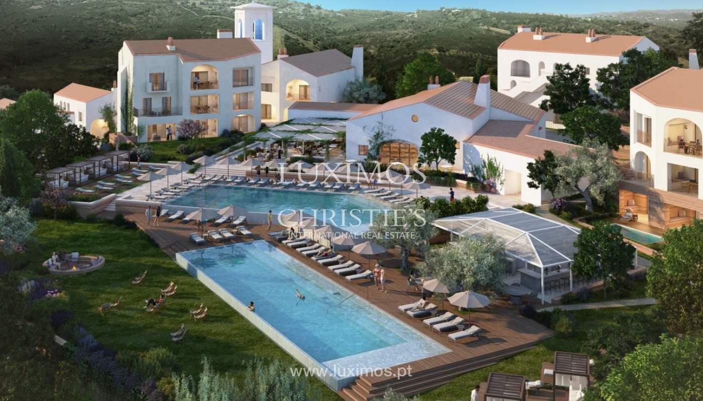 Apartamento de 2 dormitorios con piscina, resort exclusivo, Querença, Algarve_167128