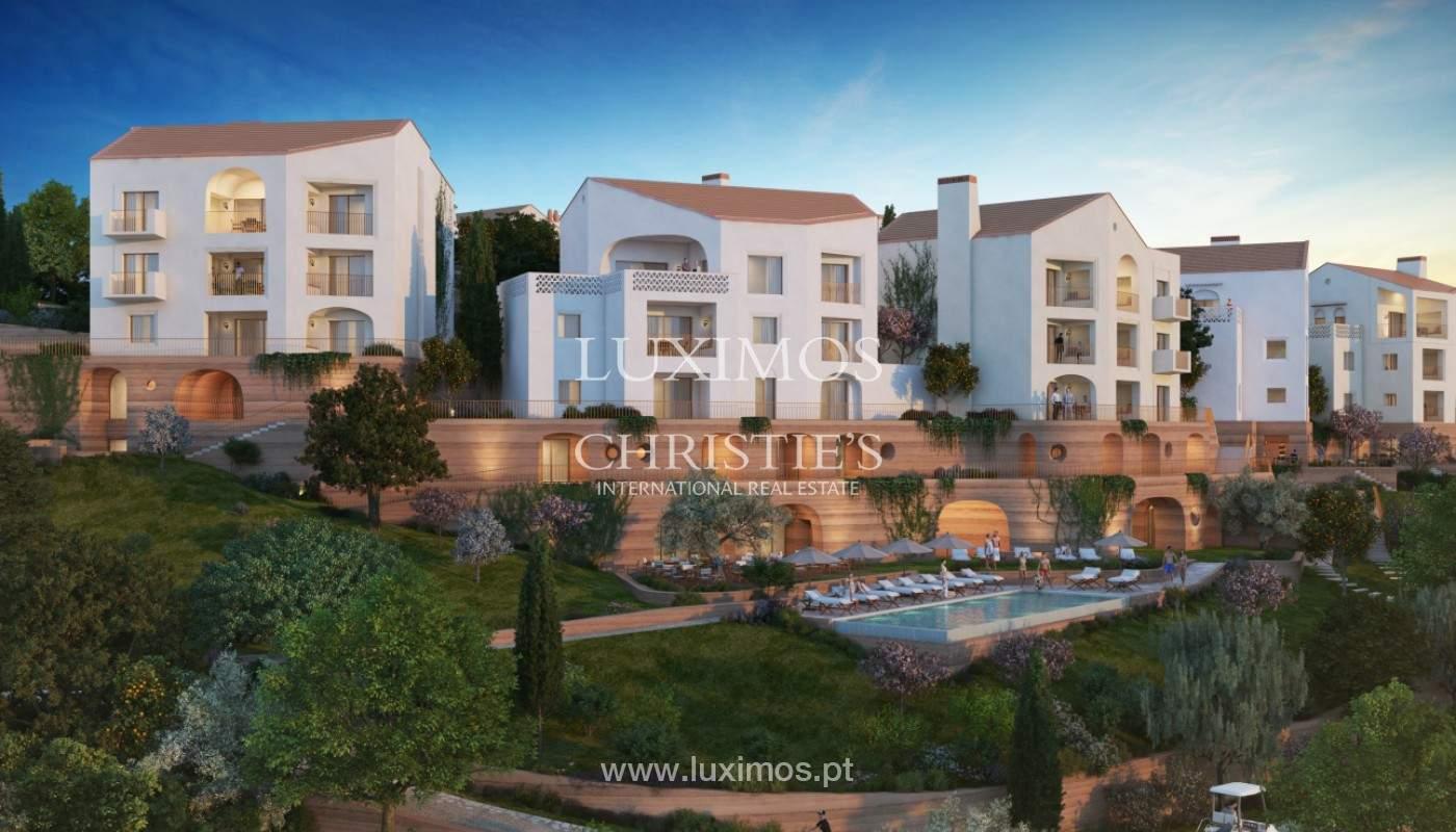 Apartamento de 2 dormitorios con piscina, resort exclusivo, Querença, Algarve_167211
