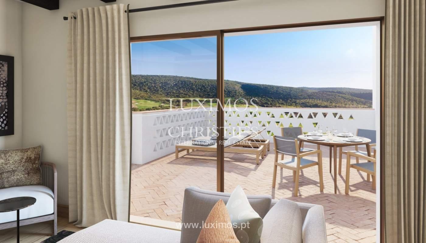Apartamento de 2 dormitorios con piscina, resort exclusivo, Querença, Algarve_167227