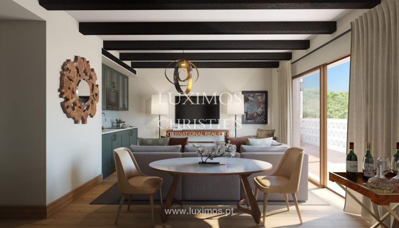 Apartamento de 2 dormitorios con piscina, resort exclusivo, Querença, Algarve_167229