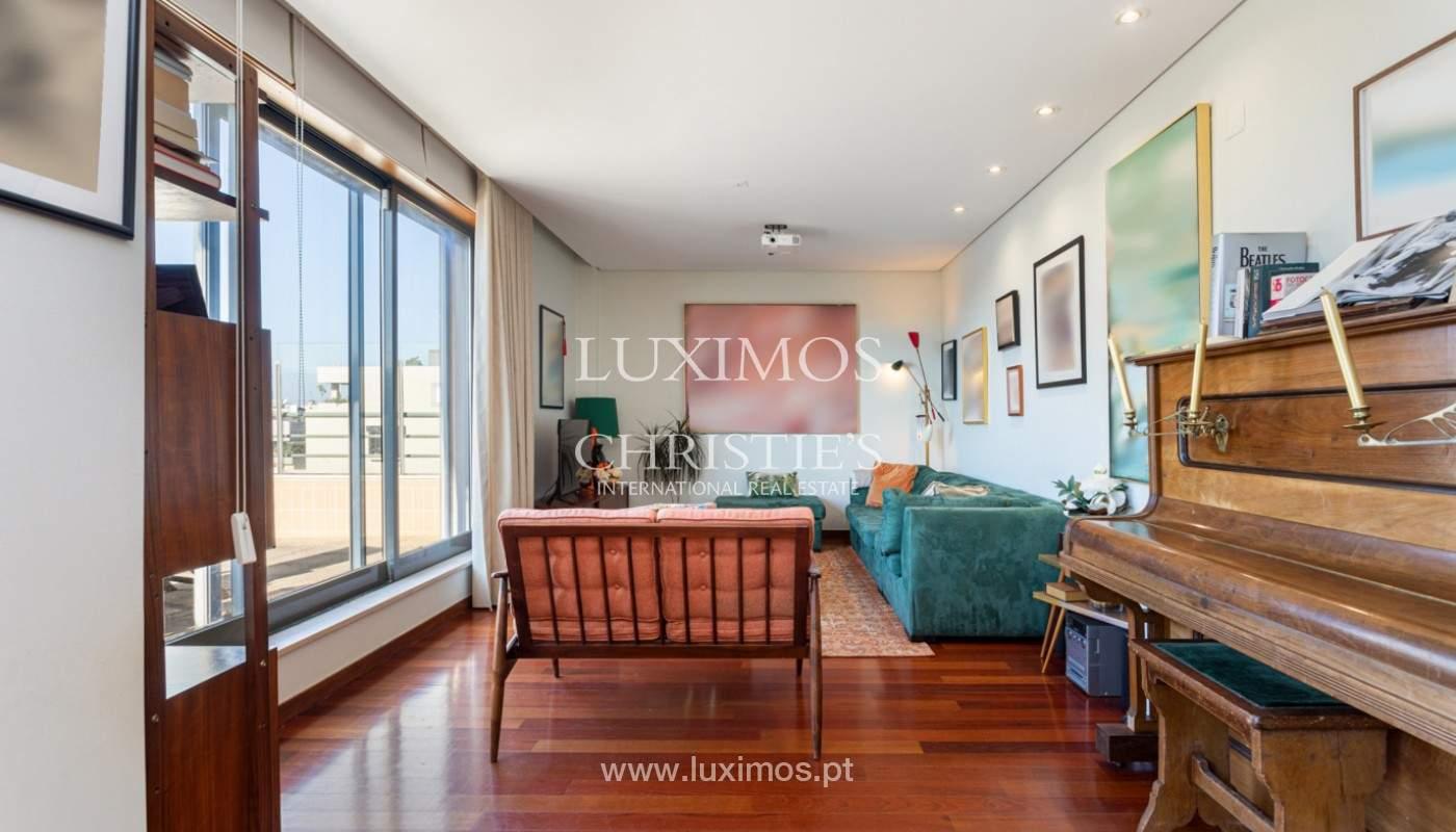 Wohnung mit Terrasse und Flussblick, zu verkaufen, in Foz, Porto, Portugal_169951