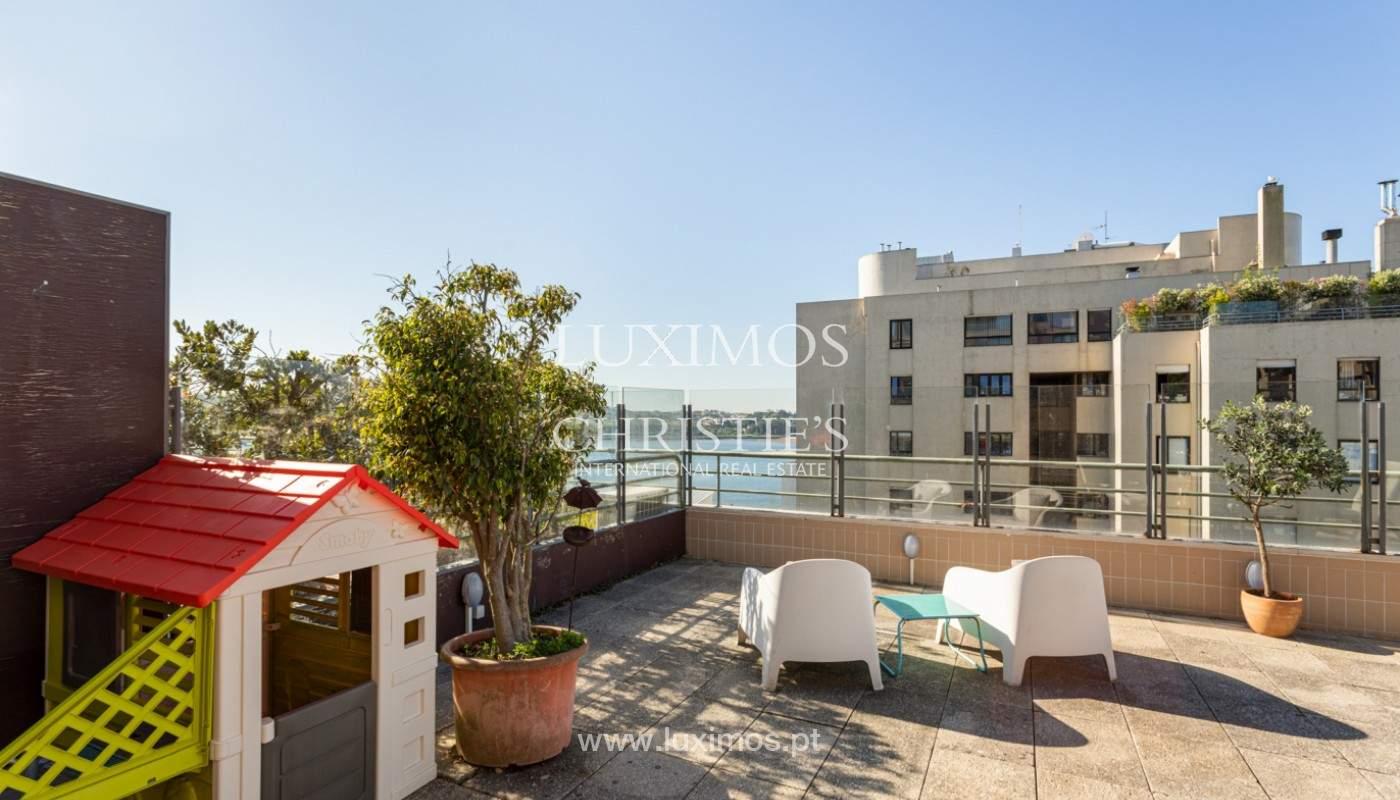 Wohnung mit Terrasse und Flussblick, zu verkaufen, in Foz, Porto, Portugal_169963