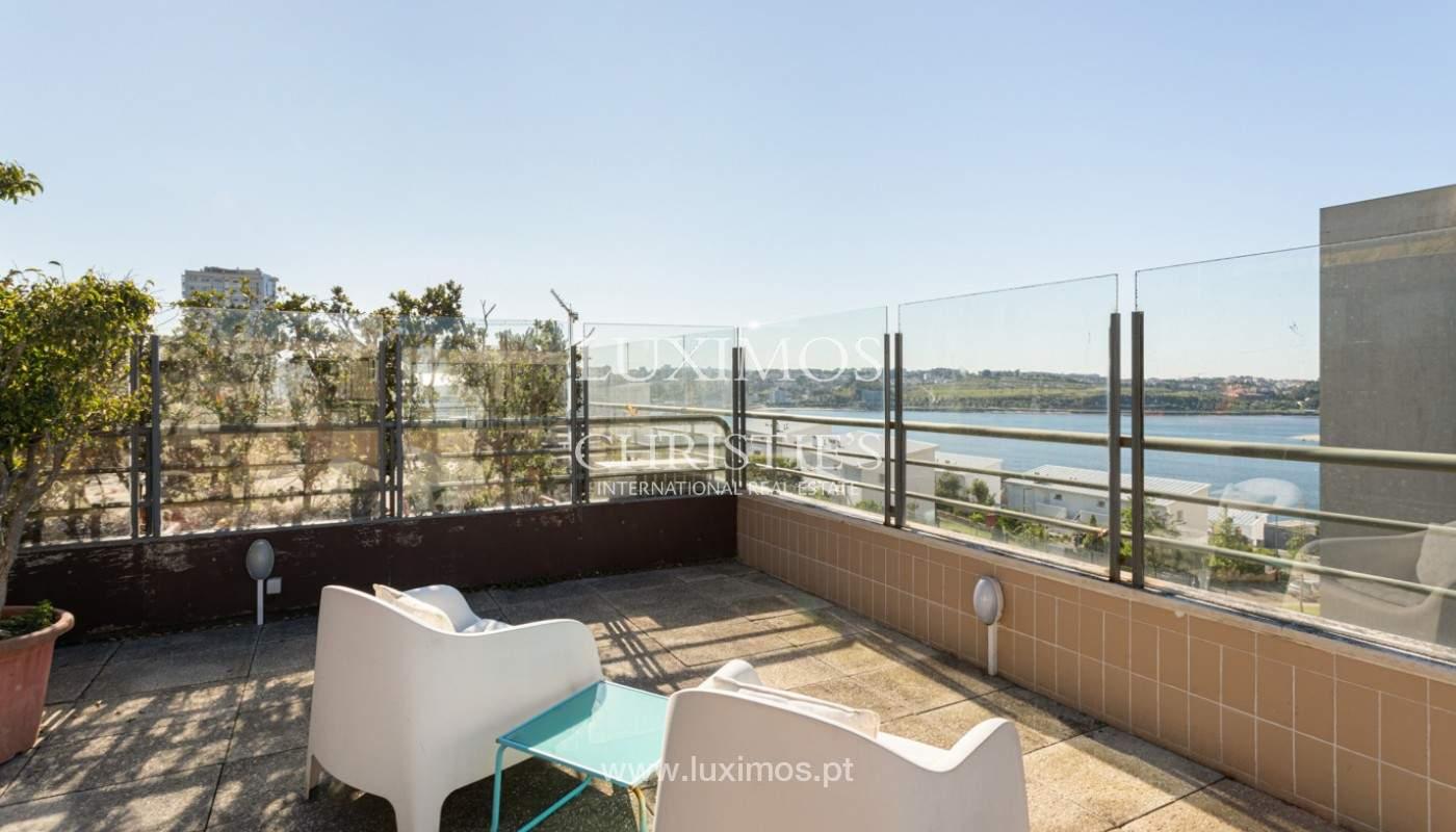 Wohnung mit Terrasse und Flussblick, zu verkaufen, in Foz, Porto, Portugal_169964
