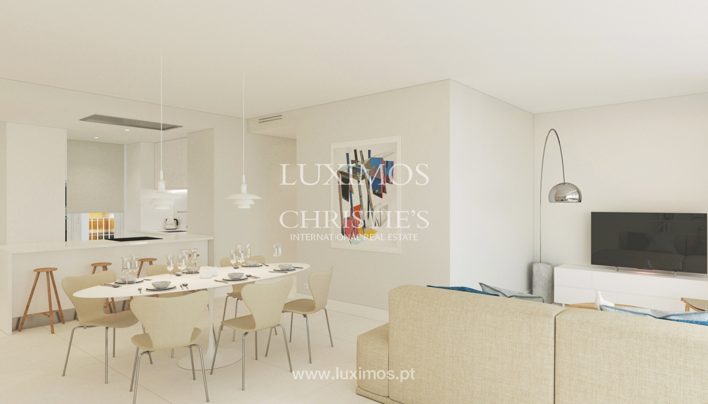 3 bedroom apartment with sea view, closed condominium, Vilamoura, Algarve_170058